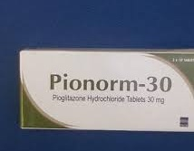 PIONORM M 30 TABS X30